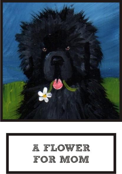a-flower-for-mom-black-newf-thumb.jpg