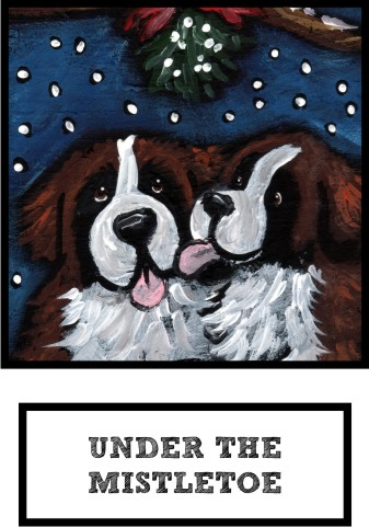 under-the-mistletoe-saint-bernard-thumb.jpg